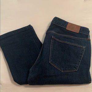 MADEWELL slim straight medium wash jeans